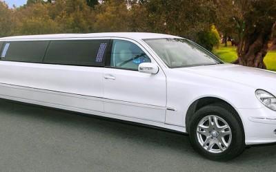 Limousine Millenium III Mercedes Benz Blanca