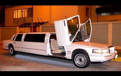 Limousine Milenium II Blanca Full Deluxe